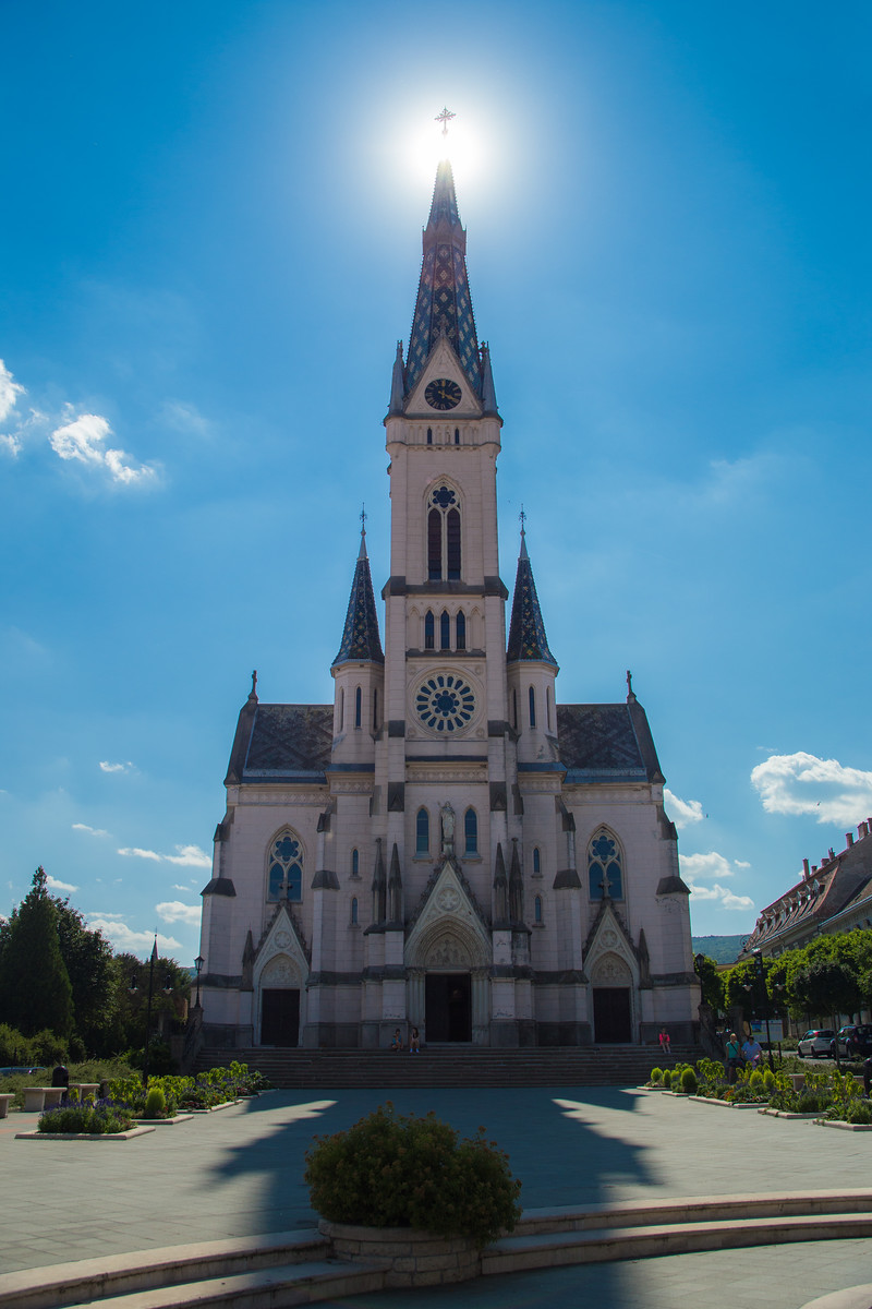Heart of Jesus church in the city of Kőszeg