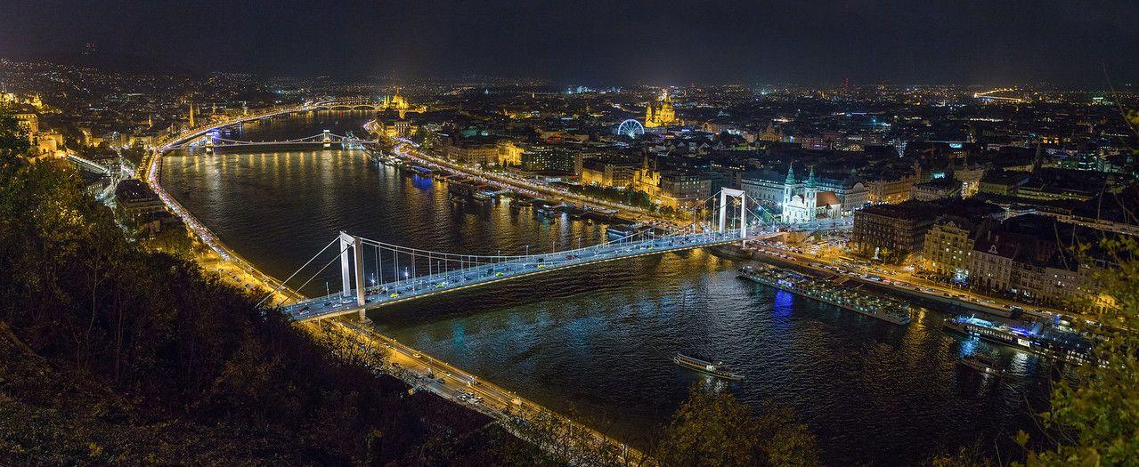 Elisabeth Bridge from the Citadel