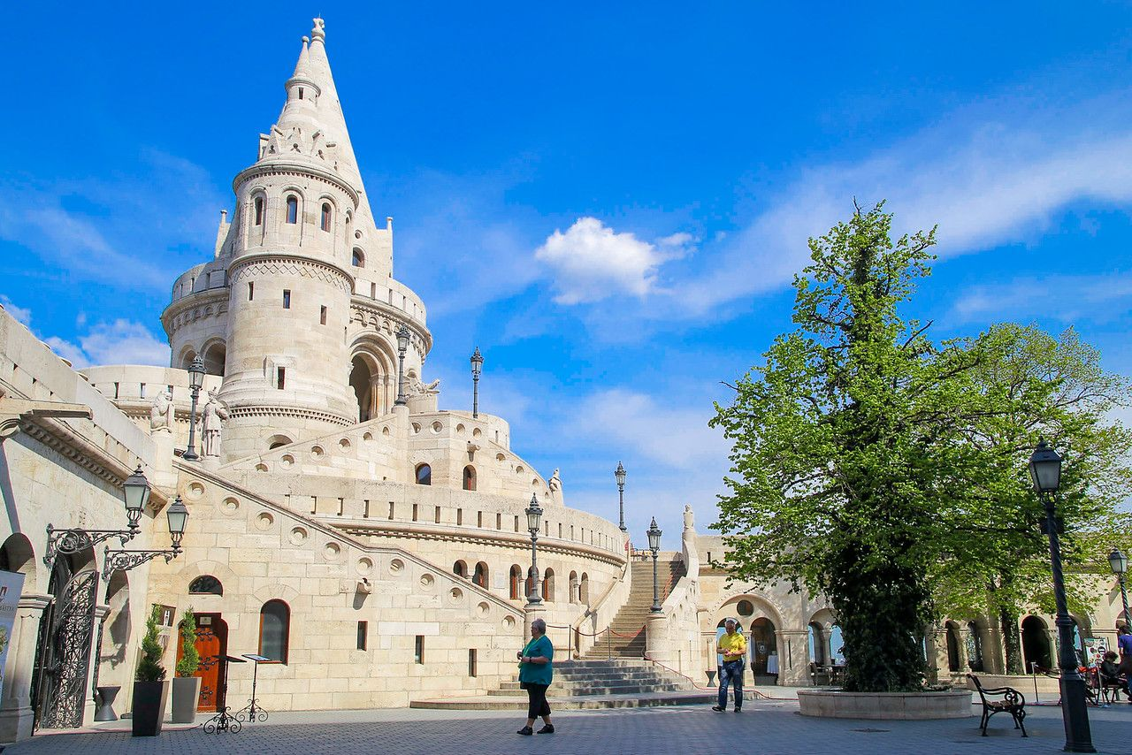 The northernmost tower of Fishermens Bastion