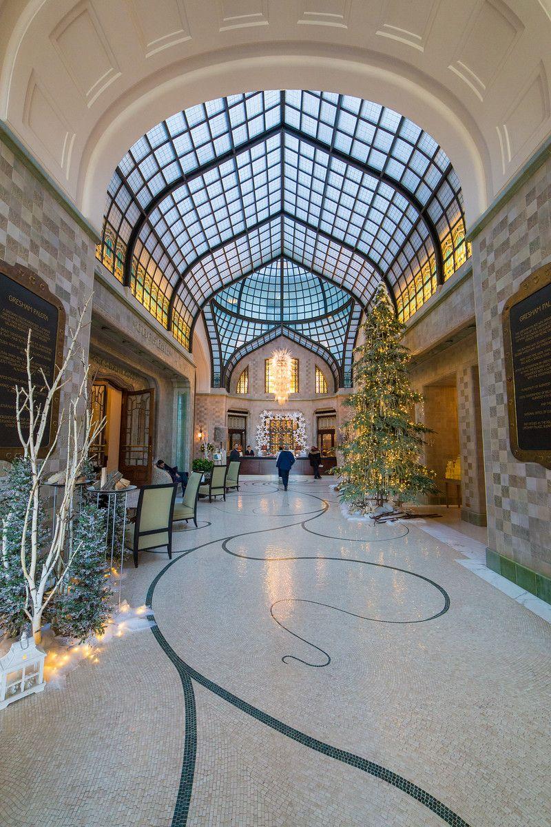 Hotel 4Seasons Budapest lobby
