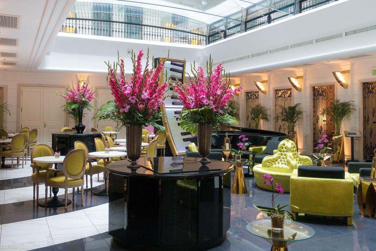 Lobby of Hotel Aria Budapest