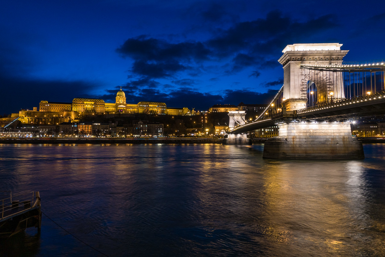 Royal Palace and Chain Bridge Budapest