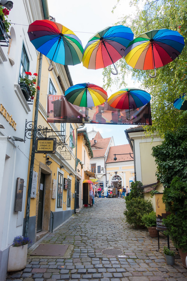 umbrellas of Szentendre