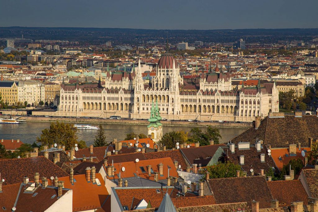 Parliament from Maria Magdalena tower