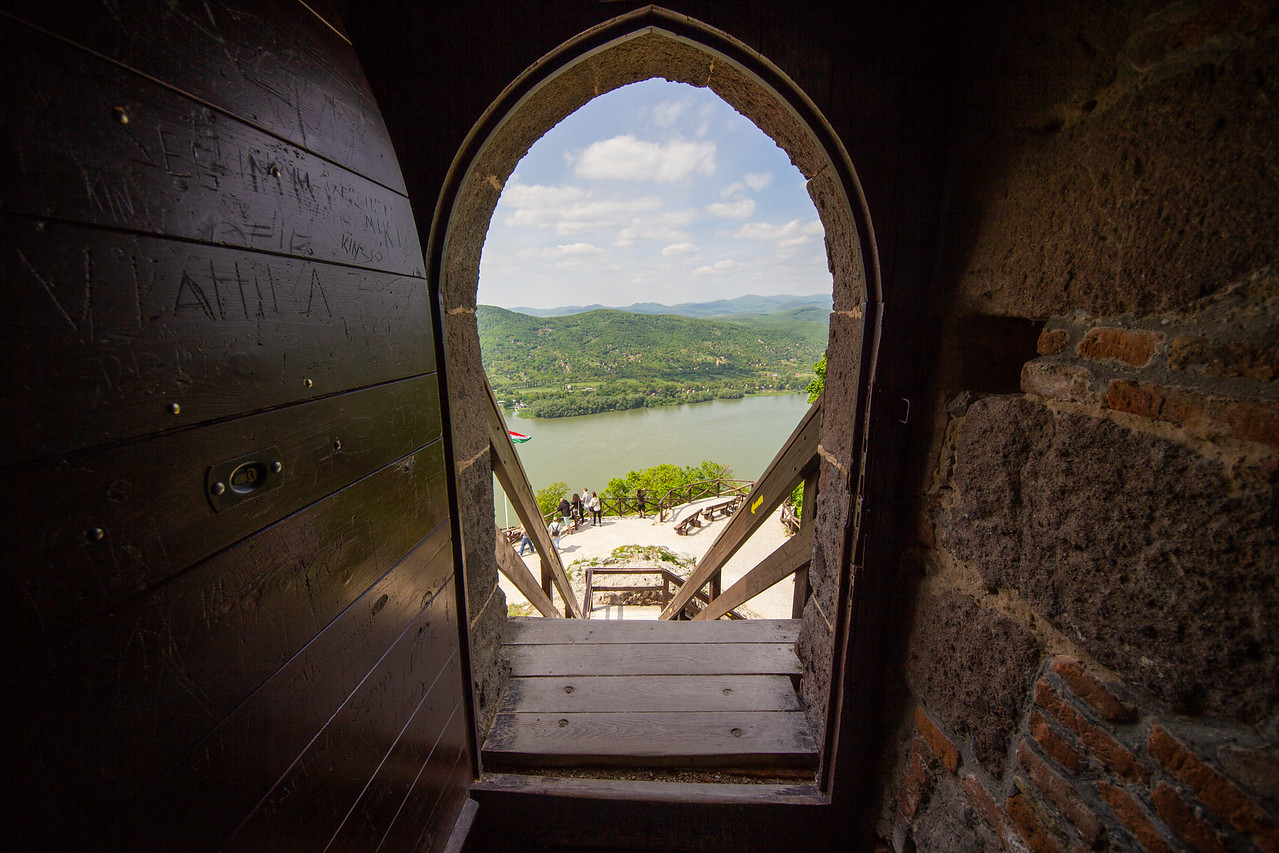 Visegrad Castle - view from window
